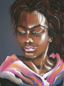 Sara - Pastel 40x50
