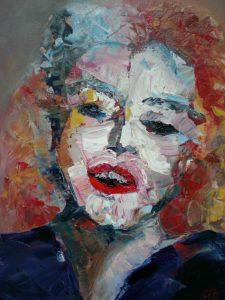 Marilyn - Olie 24x30