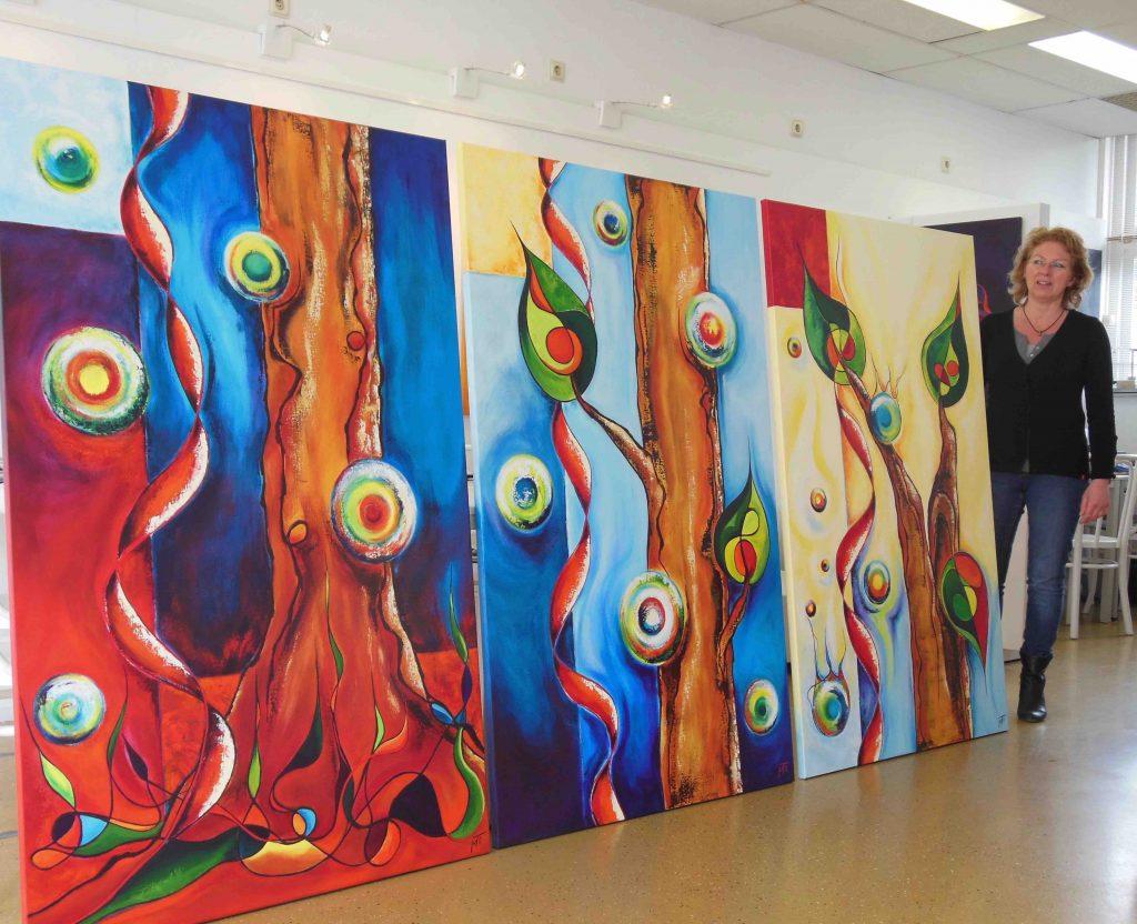 Kunststudio Mirjam TiggelovenSparkling the making L