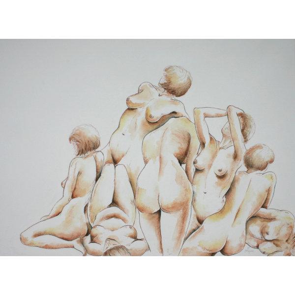 Kunststudio Mirjam TiggelovenMirjam Tiggeloven.Naakten preview