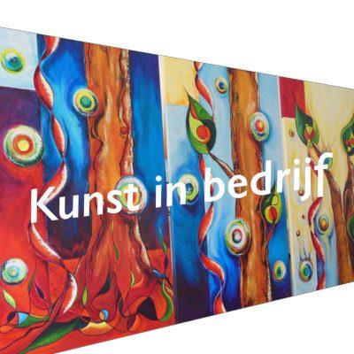 Kunst in bedrijf Kunststudio Mirjam Tiggeloven
